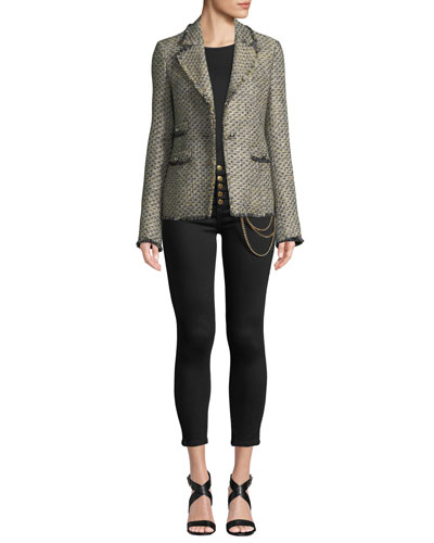Fabian Tweed Single-Button Jacket and Matching Items