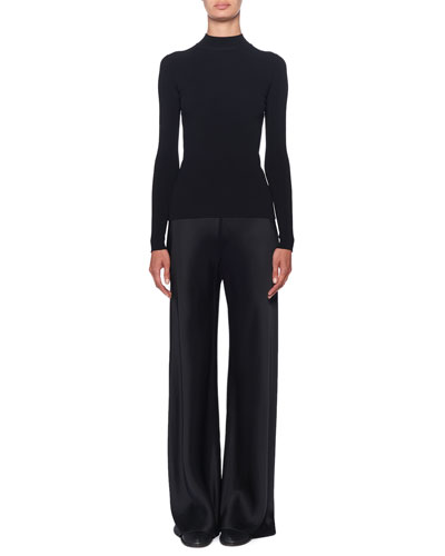 Middi Mock-Neck Long-Sleeve Top and Matching Items