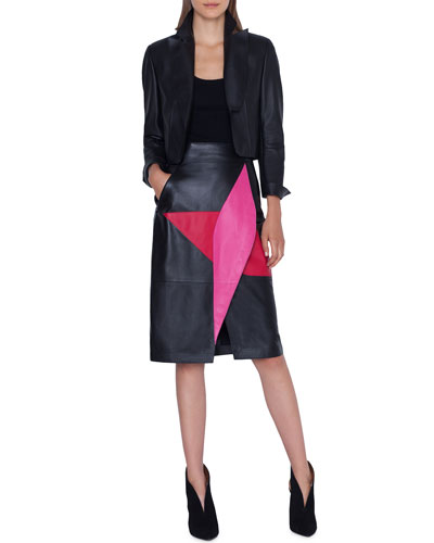 Aita Leather Bolero Jacket and Matching Items