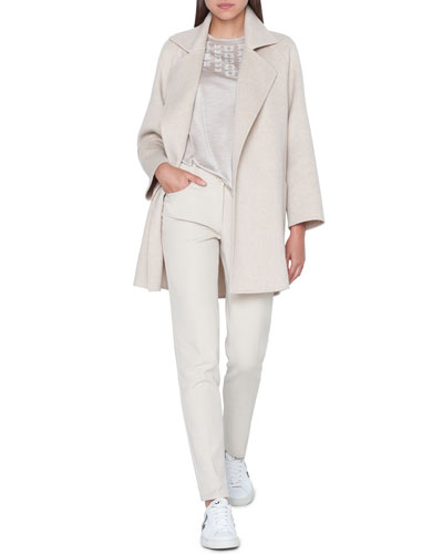 Bessy Cashmere Double-Face Coat and Matching Items