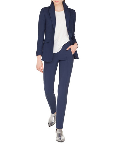 Punto Stretch Blazer Jacket with Soft Back and Matching Items