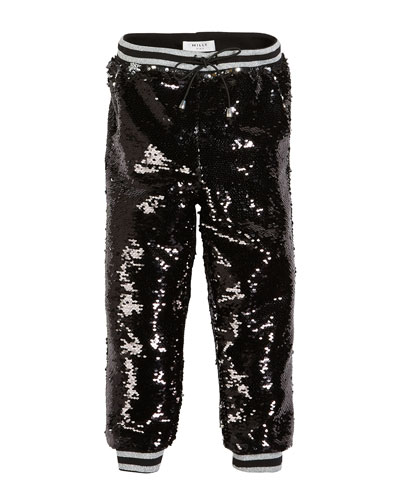 Moveable Sequin Jogger Pants, Size 4-7  and Matching Items