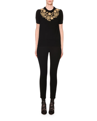 Short Slv Crew Neck Flower E and Matching Items