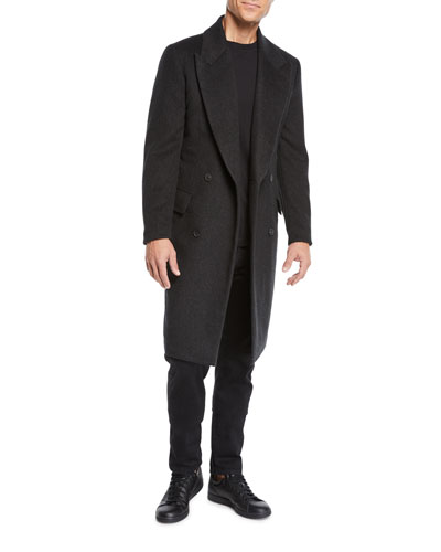 Men's Mickey Cashmere Overcoat and Matching Items