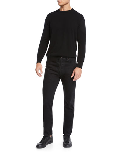 Men's Benji Crewneck Cashmere Sweater and Matching Items