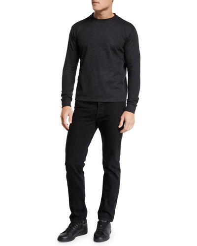 Men's John Heathered Cashmere Sweater and Matching Items
