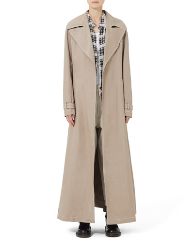 Coat Full Length Trench Belt and Matching Items