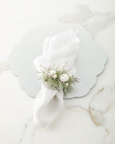 Pleated Metallic Napkin  and Matching Items