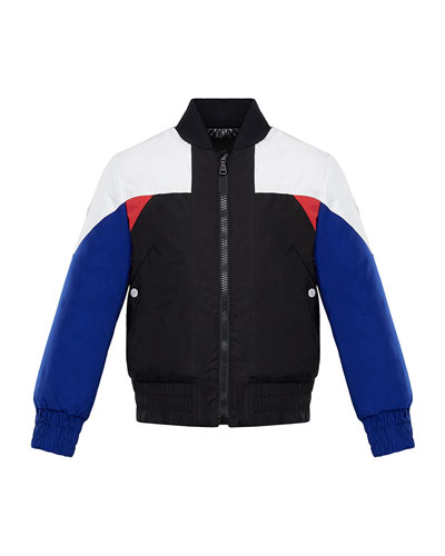 Bulson Colorblock Baseball-Collar Jacket, Size 4-6  and Matching Items