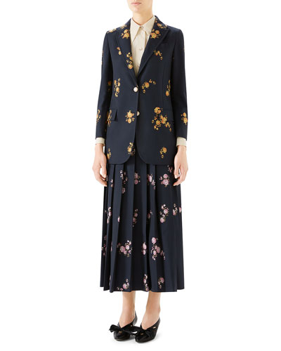 Camelia Bouquet Fil Coupe Jacket and Matching Items