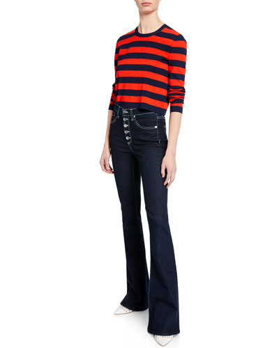 Broome Striped Cropped Sweater and Matching Items