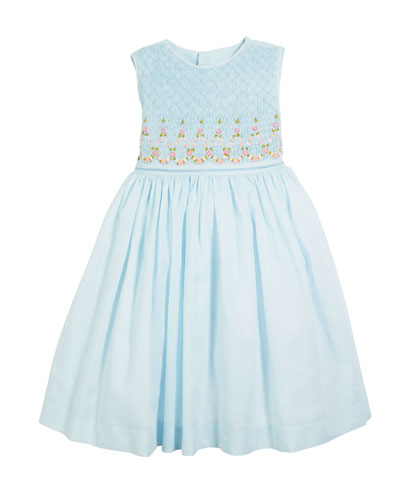 Smocked Sleeveless Bow-Back Dress  Size 2-4T  and Matching Items