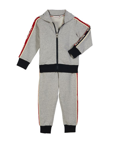 Two-Piece Logo Sweat Suit, Size 4-6  and Matching Items