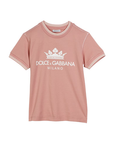Crown D&G Logo Ringer Tee  Size 4-6  and Matching Items