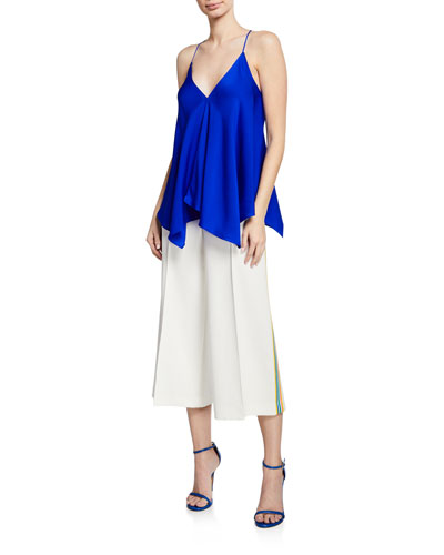 Charlotte V-Neck Silk Camisole Top and Matching Items