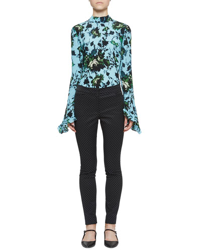 Lindsey Floral-Print Mock-Neck Top and Matching Items