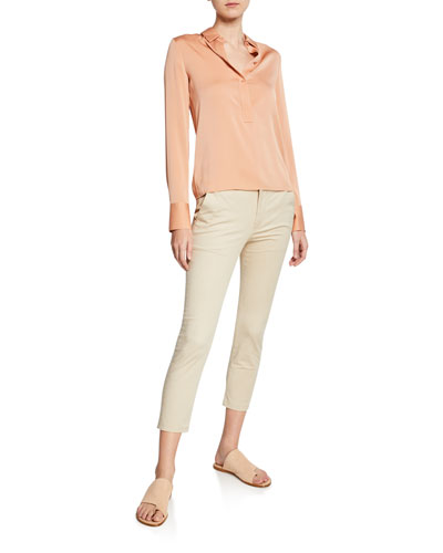 Slim Fitted Popover Shirt and Matching Items