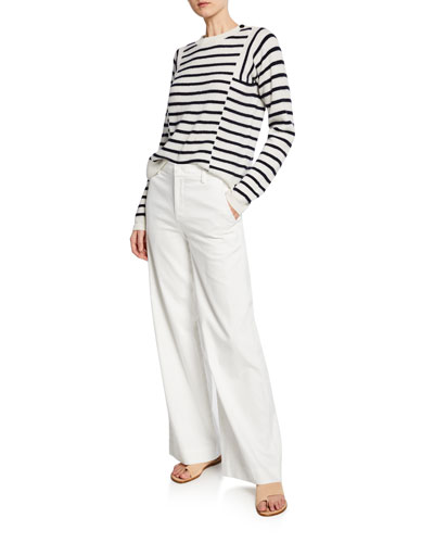 Mixed Stripe Pullover and Matching Items
