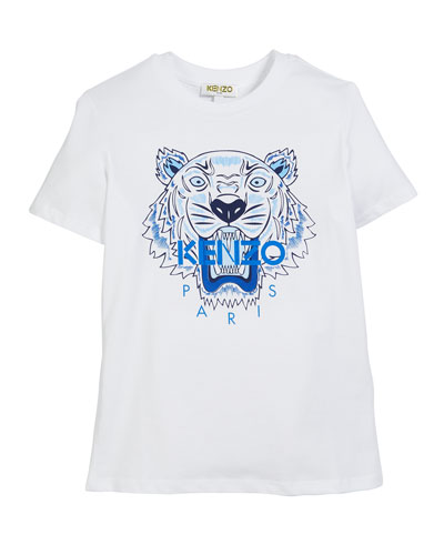 Tiger Logo Print T-Shirt  Size 5-6  and Matching Items