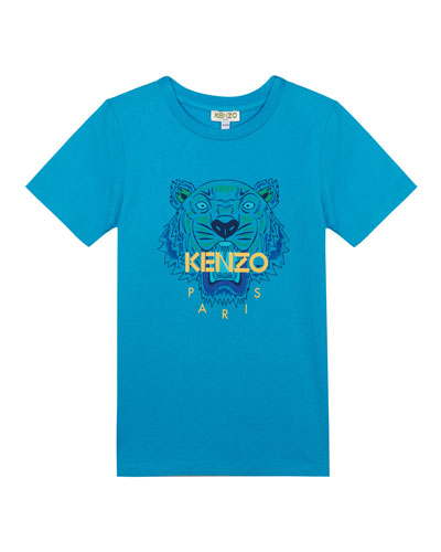 Tiger Logo Printed T-Shirt  Size 5-6  and Matching Items