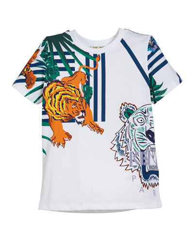 Multi-Icon Graphic T-Shirt  Size 5-6  and Matching Items