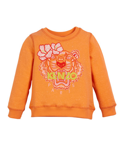 Floral Tiger Embroidered Sweatshirt  Size 12-18 Months  and Matching Items