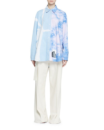 Liblu Tie Dye Ct Ls Col Top and Matching Items