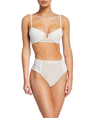 Lace Combo Bikini Top and Matching Items