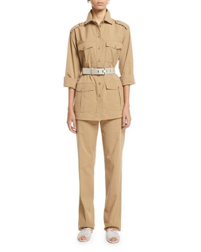 Brenda Cotton/Silk Safari Shirt and Matching Items
