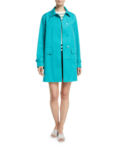 Tayler 3-Layer Poplin Coat and Matching Items