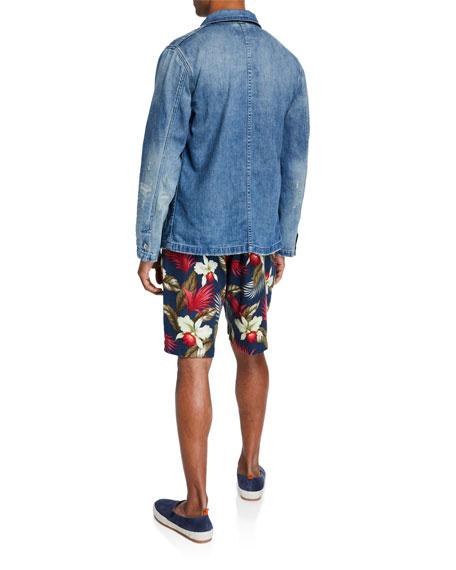Men's Marinire Heritage Striped Long-Sleeve T-Shirt