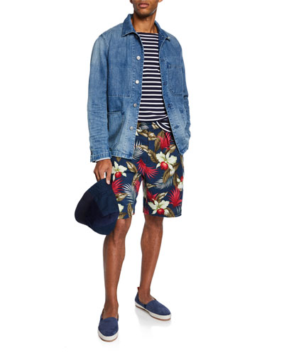 Men's Denim Worker Jacket and Matching Items