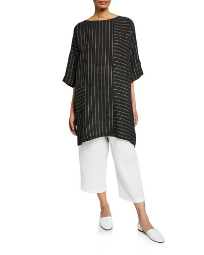 Delave Linen High Low T-Shirt and Matching Items