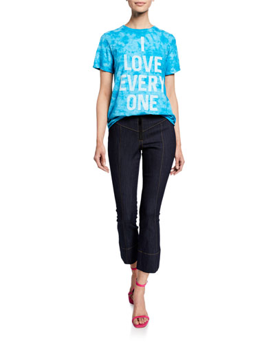 Tous Les Jours Kirim Mid-Rise Straight-Leg Ankle Denim Pants and Matching Items