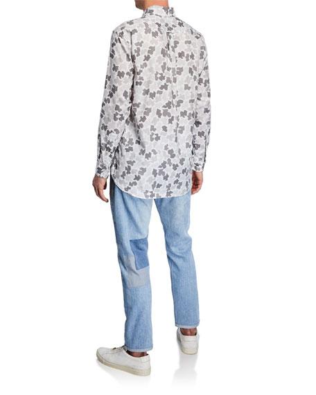 Men's The Detroit Patchwork Denim Jeans