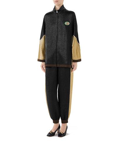 Shimmer Crepe Kimono Jacket and Matching Items