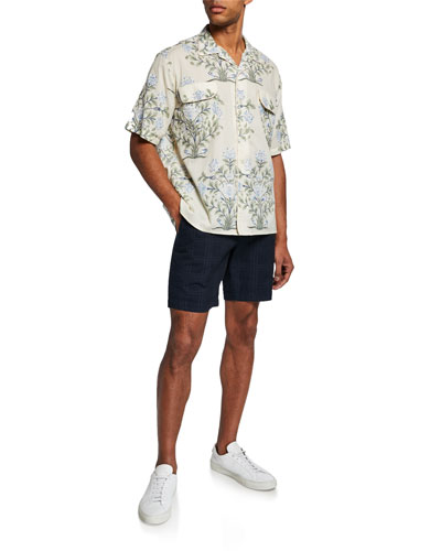 Men's Kolkata Patchwork Short-Sleeve Sport Shirt and Matching Items