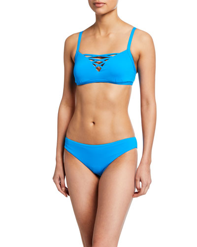 Strappy Bralette Bikini Top and Matching Items