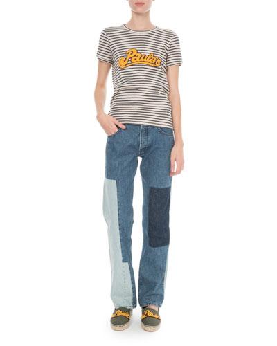 x Paula's Ibiza Striped T-Shirt and Matching Items