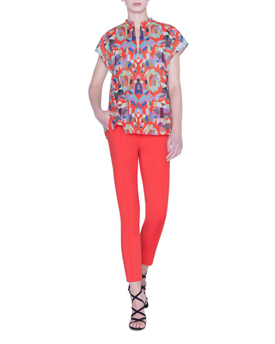 Summer Printed Voile Top and Matching Items