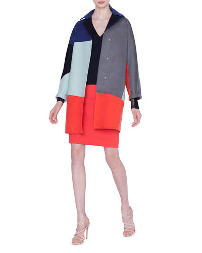 Einstein Cashmere Short-Coat and Matching Items