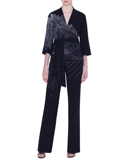 Cherelle Swiss-Mountain Embroidered Jacket