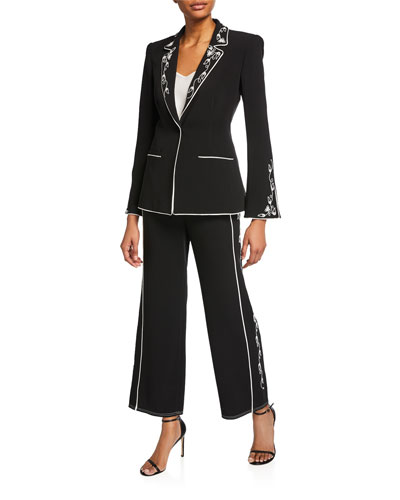 Western Rumi Single-Button Blazer and Matching Items