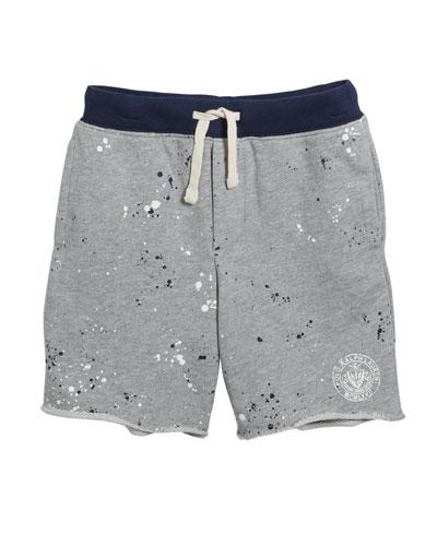 Paint Splatter Drawstring Sweat Shorts  Size 5-7  and Matching Items