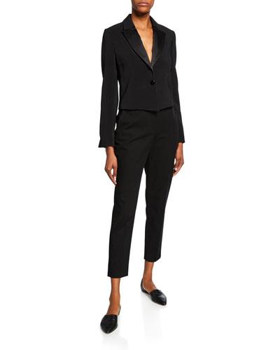 Cropped Tuxedo Jacket and Matching Items