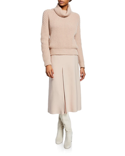 Davenport Cashmere Turtleneck Sweater  and Matching Items