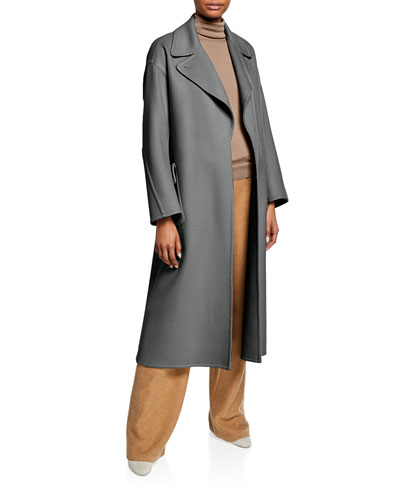 Cashmere Oversized Belted Coat and Matching Items