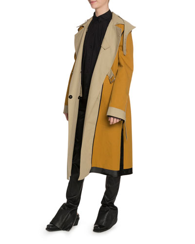 Belted Trench Coat and Matching Items