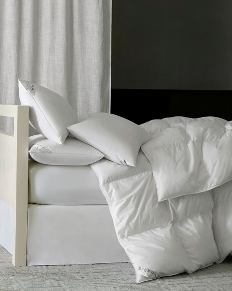 800-Fill European Down Medium Weight King Duvet