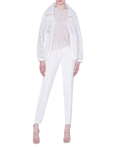 Clelia Daisy Embroidered Organza Jacket and Matching Items